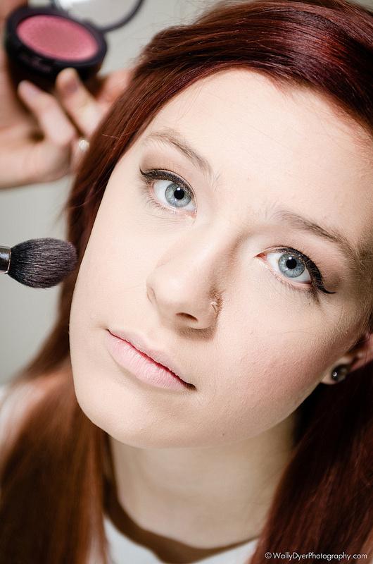 Model M. Cancel wearing makeup by Makeup Artist Kaitlyn Elaine
