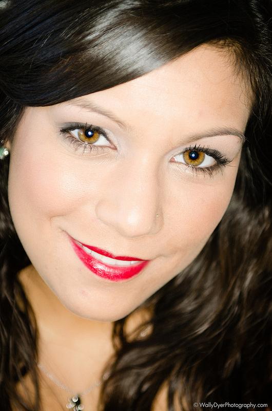 Model J. Acree wearing makeup by Makeup Artist Kaitlyn Elaine