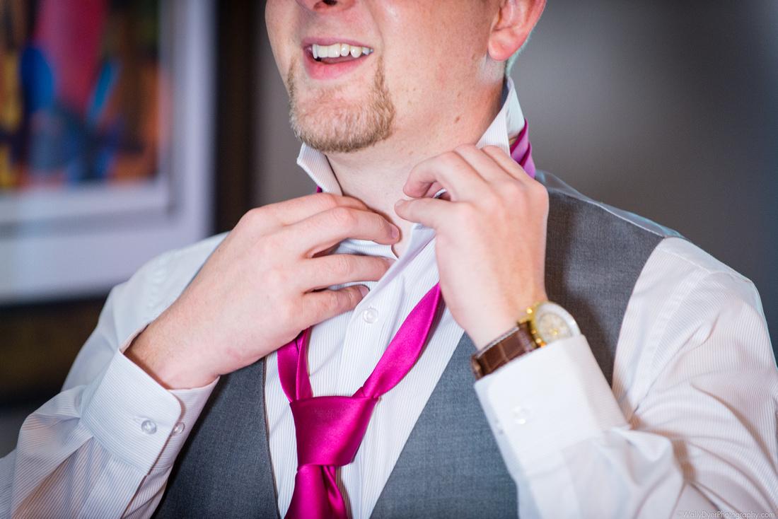 Groom: The Tie