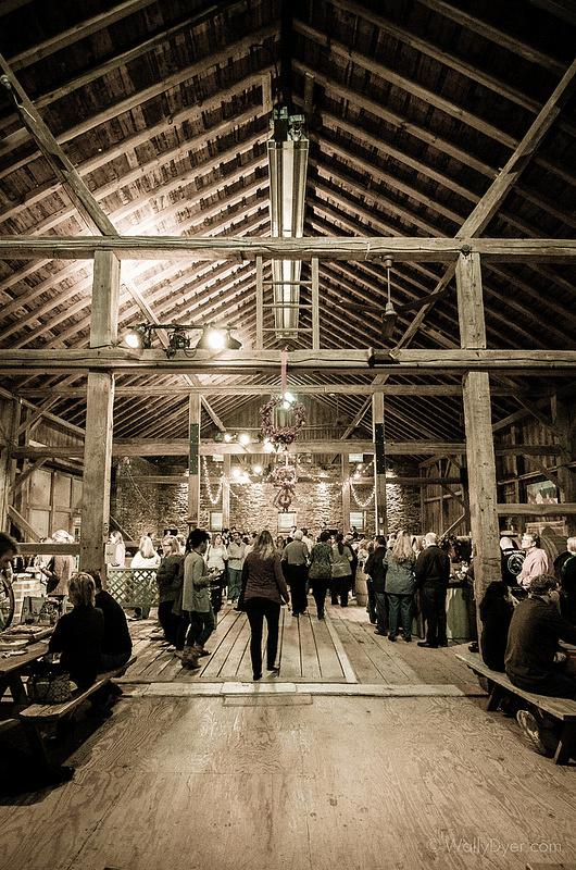 The Inside Of Beautiful Boordy Winery Barn