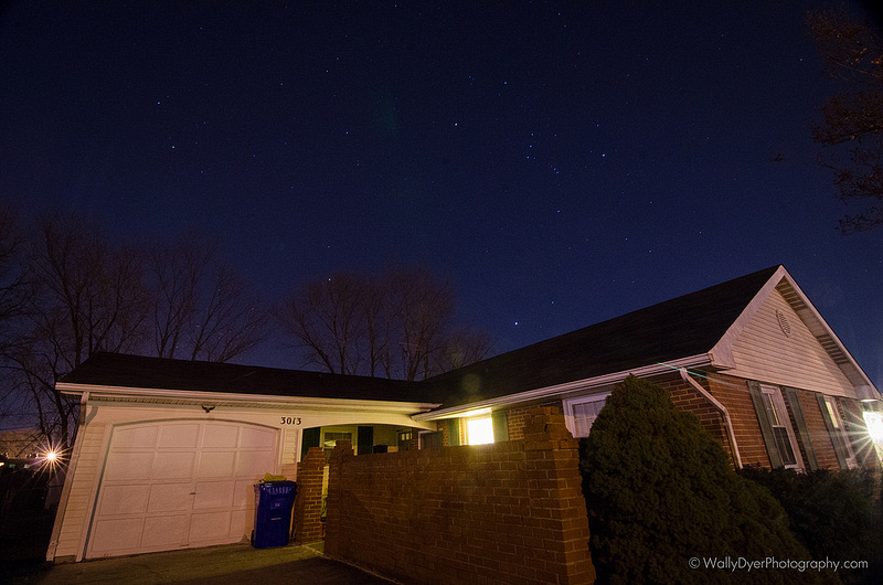 Saw Orion over my house :D